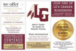 Academies Enrollment Period